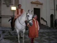 2° Corteo Storico di Santa Rita - cavaliere in Piazza Madonna delle Grazie - 17 maggio 2008   - Castellammare del golfo (547 clic)