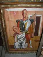 WINE WEEKEND - Vetrina dell'Alcamo DOC - quadro - Cortile del Collegio dei Gesuiti - 4 dicembre 2009  - Alcamo (2461 clic)