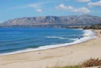 spiaggia di levante e panorama del golfo di Castellammare - 5 ottobre 2008   - Balestrate (1200 clic)