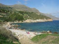 tra Scopello e la Riserva Naturale dello Zingaro: Cala Mazzo di Sciacca - 29 ottobre 2006  - Castellammare del golfo (749 clic)