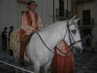 2° Corteo Storico di Santa Rita - cavaliere in Piazza Madonna delle Grazie - 17 maggio 2008   - Castellammare del golfo (594 clic)