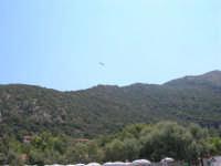 Villaggio Turistico Capo Calavà: dalla spiaggia seguiamo il volo di un parapendio - 23 luglio 2006   - Gioiosa marea (1332 clic)