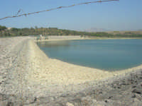 LAGO POMA - DIGA JATO - lago artificiale nei pressi di Partinico - 5 ottobre 2007   - Partinico (5501 clic)