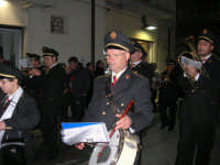 Complesso Bandistico Città di Alcamo al seguito della processione in onore di San Giuseppe - via Galileo Galilei - 15 marzo 2008   - Alcamo (785 clic)