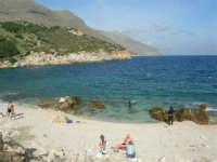 tra Scopello e la Riserva Naturale dello Zingaro: Cala Mazzo di Sciacca - 29 ottobre 2006  - Castellammare del golfo (998 clic)