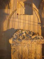 Cappella di S. Crescenzia - sec. XVI: particolare dell'interno - 11 febbraio 2007   - San vito lo capo (867 clic)
