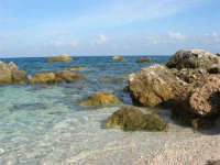 tra Scopello e la Riserva Naturale dello Zingaro: Cala Mazzo di Sciacca - 29 ottobre 2006  - Castellammare del golfo (1458 clic)