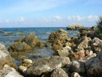 tra Scopello e la Riserva Naturale dello Zingaro: Cala Mazzo di Sciacca - 29 ottobre 2006  - Castellammare del golfo (756 clic)