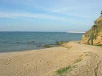 la costa - spiaggia di ponente - 26 ottobre 2008  - Balestrate (1046 clic)