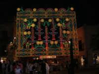 Festeggiamenti in onore di Maria Santissima dei Miracoli - Illuminazione in piazza Ciullo - 17.6.2005  - Alcamo (3252 clic)