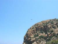 Villaggio Turistico Capo Calavà: dalla spiaggia seguiamo il volo di un parapendio - 23 luglio 2006   - Gioiosa marea (1174 clic)