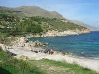 tra Scopello e la Riserva Naturale dello Zingaro: Cala Mazzo di Sciacca - 29 ottobre 2006  - Castellammare del golfo (773 clic)