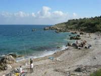 tra Scopello e la Riserva Naturale dello Zingaro: Cala Mazzo di Sciacca - 29 ottobre 2006  - Castellammare del golfo (1435 clic)