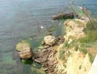 cala Petrolo: mare e scogli - 7 maggio 2006  - Castellammare del golfo (1172 clic)