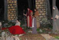 Parco Urbano della Misericordia - LA BIBBIA NEL PARCO - Quadri viventi: 8. Gesù entra in Gerusalemme - 5 gennaio 2009  - Valderice (2663 clic)