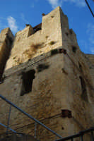 ruderi della Chiesa Madre: torre campanaria - 11 ottobre 2007  - Salemi (2660 clic)