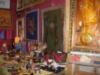 WINE WEEKEND - Vetrina dell'Alcamo DOC - l'angolo dell'arte - Cortile del Collegio dei Gesuiti - 4 dicembre 2009  - Alcamo (2560 clic)
