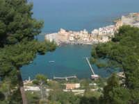 panorama del porto dall'Hotel Belvedere - 20 aprile 2008  - Castellammare del golfo (554 clic)