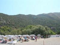 Villaggio Turistico Capo Calavà: dalla spiaggia seguiamo il volo di un parapendio - 23 luglio 2006   - Gioiosa marea (1423 clic)