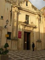 Chiesa dell'Oratorio o di S. Bartolomeo - Museo del Pane - 6 gennaio 2009   - Salemi (2926 clic)