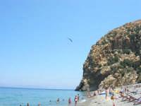 Villaggio Turistico Capo Calavà: dalla spiaggia seguiamo il volo di un parapendio - 23 luglio 2006   - Gioiosa marea (1359 clic)