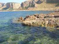 Riserva Naturale Orientata Monte Cofano - il mare - 29 luglio 2009   - Custonaci (2218 clic)