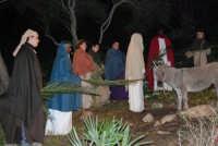 Parco Urbano della Misericordia - LA BIBBIA NEL PARCO - Quadri viventi: 8. Gesù entra in Gerusalemme - 5 gennaio 2009  - Valderice (2424 clic)