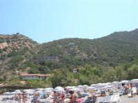 Villaggio Turistico Capo Calavà: dalla spiaggia seguiamo il volo di un parapendio - 23 luglio 2006   - Gioiosa marea (1215 clic)