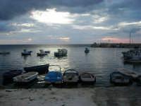 barche nel porticciolo - 3 giugno 2007  - Bonagia (1074 clic)