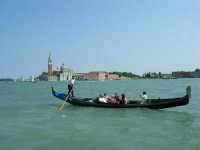Venezia - Basilica di San Giorgio Maggiore, nell'omonima isola sul Bacino di San Marco - 23 agosto 2006  - Alcamo (1736 clic)
