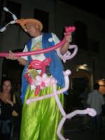 Cous Cous Fest 2007 - Artista di strada: trampoli e palloncini per la gioia dei bambini - 28 settembre 2007   - San vito lo capo (670 clic)