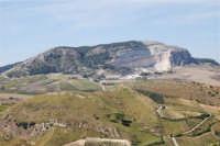 panorama dal colle Pianto Romano - 4 ottobre 2007  - Calatafimi segesta (838 clic)