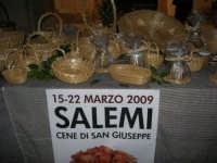 Cene di San Giuseppe - esposizione oggetti artigianali - 15 marzo 2009   - Salemi (2344 clic)