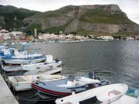 il paese visto dal molo - 3 giugno 2007  - Bonagia (1471 clic)