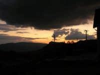 Giuliana al tramonto, vista da Chiusa Sclafani - 9 novembre 2008  - Giuliana (1471 clic)