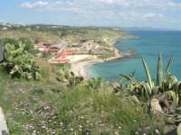la costa ed il mare dal belvedere - 25 aprile 2008   - Sciacca (1571 clic)