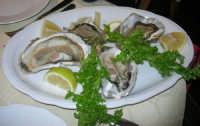 al Ristorante La Cambusa: ostriche - 3 dicembre 2006  - Castellammare del golfo (2662 clic)