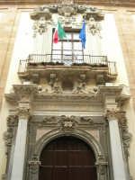Uno scorcio di Corso Vittorio Emanuele, la via principale della Trapani settecentesca - 2 ottobre 2005   - Trapani (1209 clic)