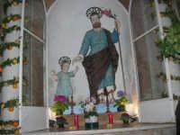 Cene di San Giuseppe - San Giuseppe e Gesù Bambino - 15 marzo 2009   - Salemi (2680 clic)