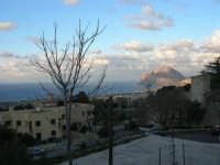 vista sul golfo di Bonagia e monte Cofano - 22 febbraio 2009   - Valderice (2289 clic)