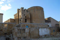 resti della chiesa madre e ruderi - terremoto del gennaio 1968 - 11 ottobre 2007  - Salemi (2512 clic)