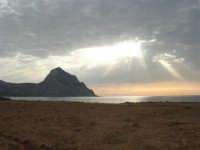 Golfo del Cofano - scende la sera - 23 agosto 2008  - San vito lo capo (587 clic)
