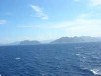 a bordo della GNV LA SUPERBA: la costa palermitana - 27 agosto 2006  - Palermo (1463 clic)