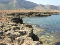 Golfo del Cofano: scogliera e mare spettacolare - 23 agosto 2008  - San vito lo capo (489 clic)