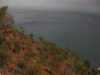 un tratto di costa dal Belvedere - 6 ottobre 2007   - Castellammare del golfo (490 clic)