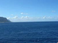 a bordo della GNV LA SUPERBA: la costa palermitana - 27 agosto 2006  - Palermo (989 clic)