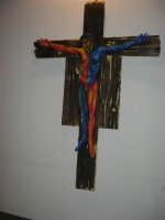 Fulget crucis mysterium - Il genio immortale e la devozione popolare - Across the Cross - il Mysterium Crucis nell'arte contemporanea - Chiesa di Sant'Alberto - 13 marzo 2009   - Trapani (1802 clic)