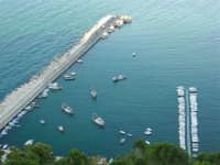 Dal Belvedere: il porto di Castellammare - 4.7.2005  - Castellammare del golfo (1584 clic)