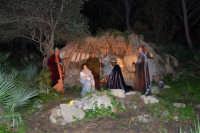 Parco Urbano della Misericordia - LA BIBBIA NEL PARCO - Quadri viventi: 10. Natività - 5 gennaio 2009  - Valderice (3681 clic)