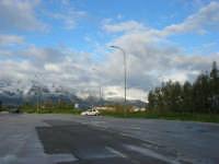 Autostrada A29 Palermo-Mazara - area parcheggio Costa Gaia - monti di Castellammare innevati - 14 febbraio 2009   - Alcamo (3317 clic)